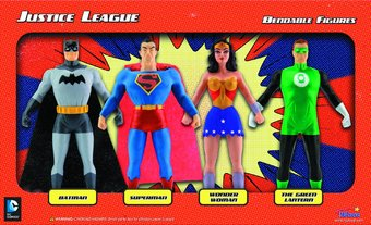 Justice League - Bendable Action Figure Box Set