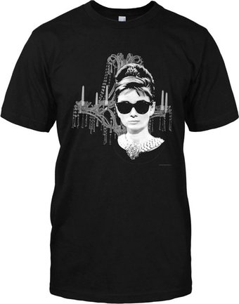 Audrey Hepburn - Breakfast at Tiffany's - T-Shirt