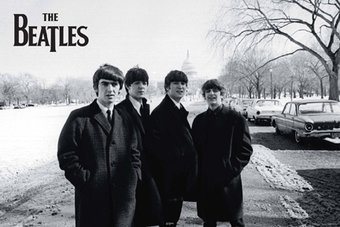 "The Beatles - Beatles in DC: Poster (24"" x 36"")"