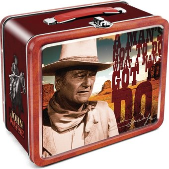 John Wayne - A Mans Got To Do - Lunch Box