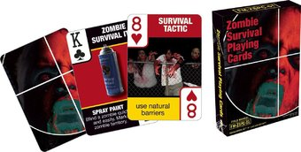 Zombie: Survival Tips - Playing Cards