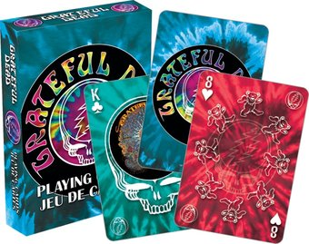 Grateful Dead - Tie Dye - Playing Cards