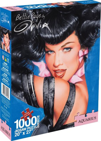 Bettie Page - Olivia Puzzle (1000 pc)