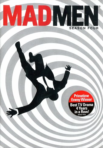 Mad Men - Season 4 (4-DVD)