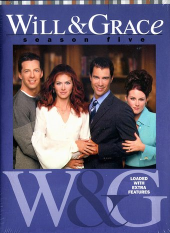Will & Grace - Season 5 (4-DVD)