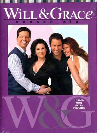 Will & Grace - Season 6 (4-DVD)