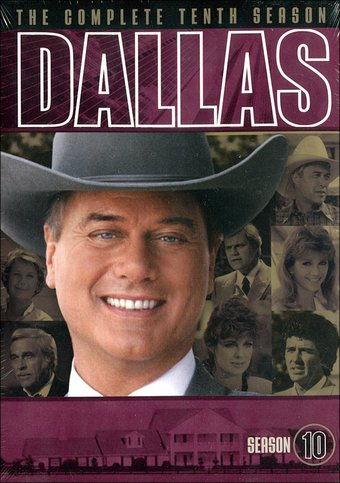 Dallas - Complete 10th Season (3-DVD)