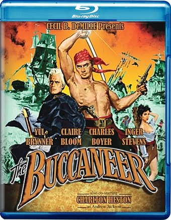 The Buccaneer (1958) (Blu-ray)