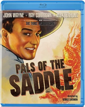 Pals of the Saddle (Blu-ray)