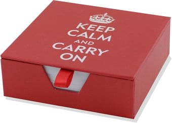 Keep Calm & Carry On - Boxed Desk Notes