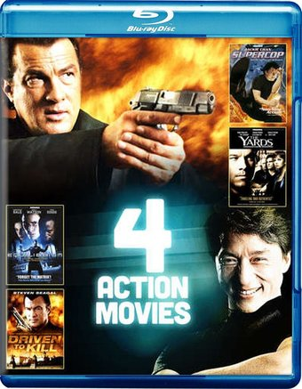 4-Film Action Pack, Volume 4 (Blu-ray)