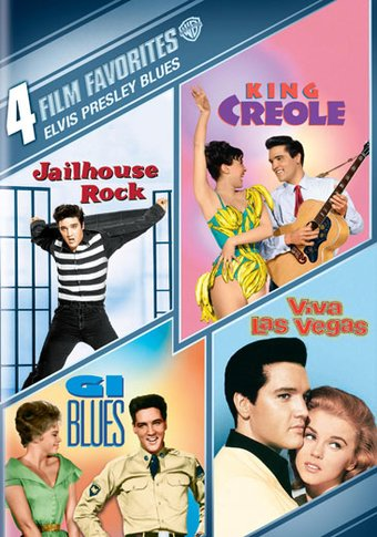 Elvis Presley Blues: 4 Film Favorites (4-DVD)