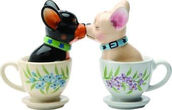 Puppy - Tea Cup Pups - Salt & Pepper Shakers