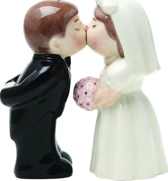 Bride and Groom - Salt and Pepper Shakers