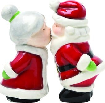 Holiday - Santa & Mrs. Claus - Salt & Pepper