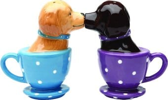 Puppy - Tea Cup Labs - Salt & Pepper Shakers
