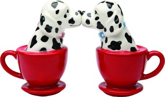 Puppy - Tea Cup Dalmatians - Salt & Pepper Shakers