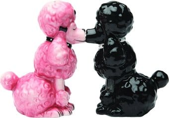 Poodles - Salt & Pepper Shakers
