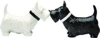 Puppy - Scottish Terrier - Salt & Pepper Shakers