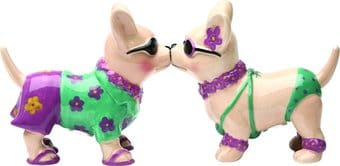 Puppy - Beach Chi Chi - Salt and Pepper Shakers