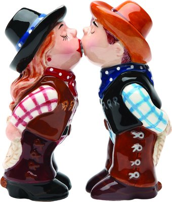 Cowboy and Cowgirl - Salt and Pepper Shakers