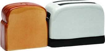 Toaster and Toast - Salt and Pepper Shakers
