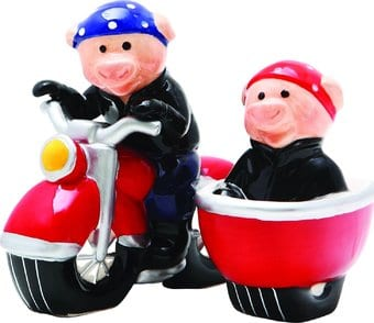 Wild Hogs - Salt and Pepper Shakers