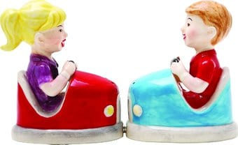 Bumper Cars - Salt and Pepper Shakers
