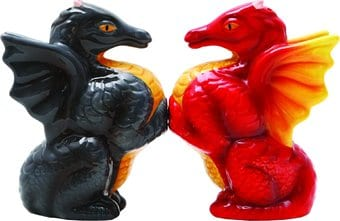 Dragons - Salt & Pepper Shakers