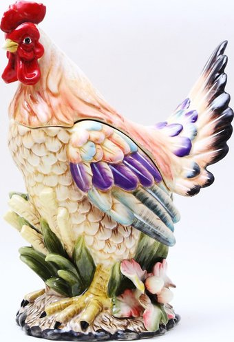 Chicken Rooster - Cookie Jar