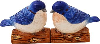 Blue Birds - Salt and Pepper Shakers