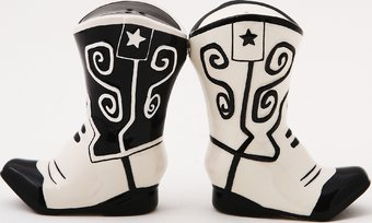 Cowboy Boots - Salt and Pepper Shakers
