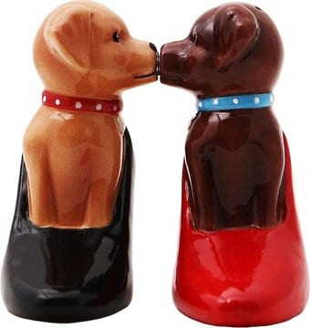 Puppy - Puppies In Pumps - Salt & Pepper Shakers
