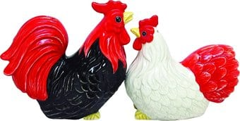 Rooster & Hen - Salt & Pepper Shakers