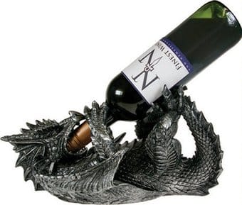 Dragon Guzzler - Wine Holder Figurine