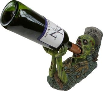 Zombie Guzzler - Wine Holder Figurine