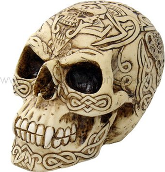 Celtic Skull - Figurine