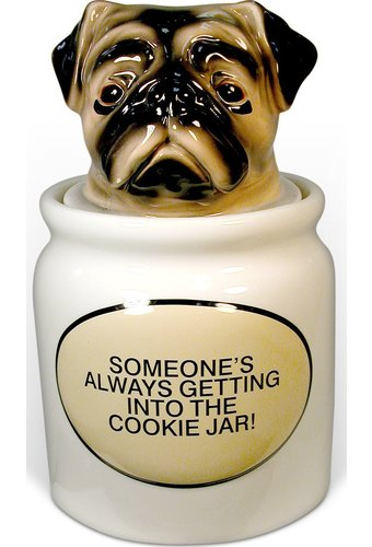 Pug - Cookie Jar