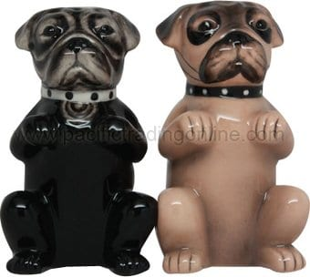 Puppy - Pugs - Salt & Pepper Shakers