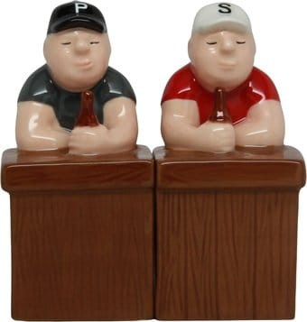 Beer Buddies - Salt and Pepper Shakers