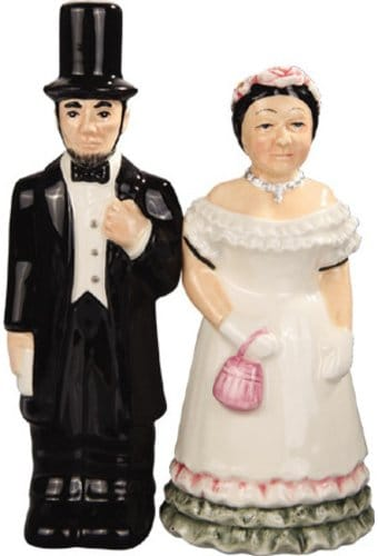 Abraham Lincoln - Abraham & Mary - Salt & Pepper