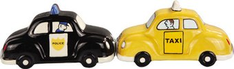 Cab & Cop - Salt & Pepper Shakers