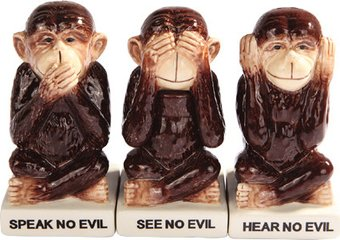 Monkeys - See No Evil, Speak No Evil, Hear No