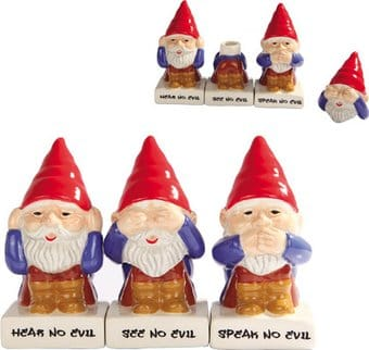 Gnomes - See No Evil, Speak No Evil, Hear No Evil