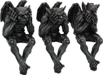 Mystical - Gargoyles - See, Hear, Speak No Evil