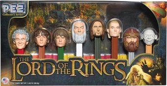 Lord of the Rings - Pez Numbered Limited Edition