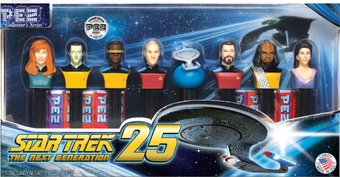 Star Trek - The Next Generation: Pez Numbered