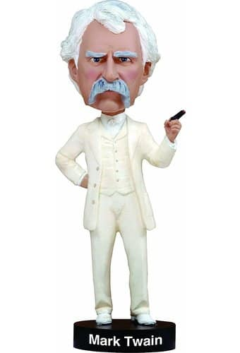 Mark Twain - Bobble Head