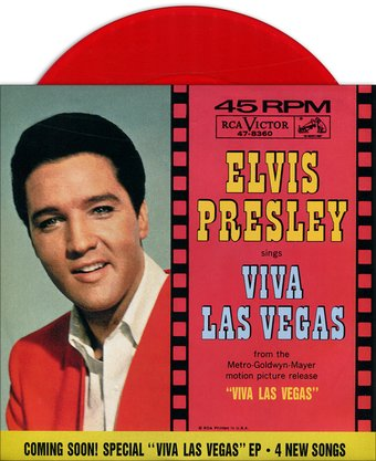 Viva Las Vegas / What'd I Say (Red Vinyl)