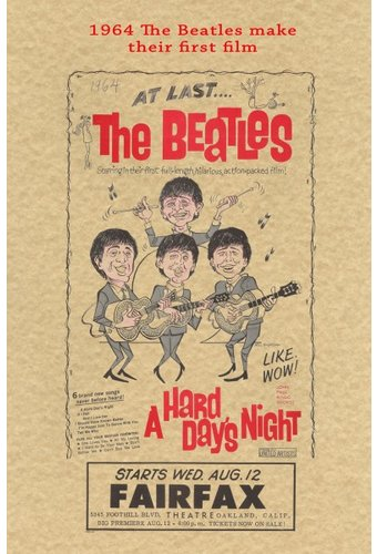 Historic Document: 1964 The Beatles First Film